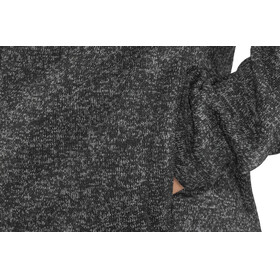 Meru M's Östersund Knitted Fleece Jacket Asphalt Melange